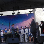 Дворцовая площадь - награждение победителей  Безопасного колеса-2013
